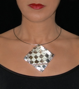 COLLIER JONC DAMIA by HISSAR CRÉATION