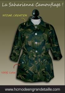 Saharienne camouflage