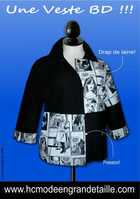 une veste BD hissar création